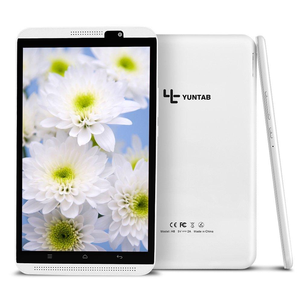 Yuntab H8 8 blanco